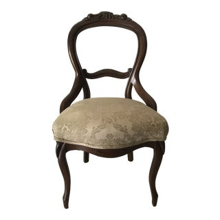 Antique Balloon Back Chair For Sale