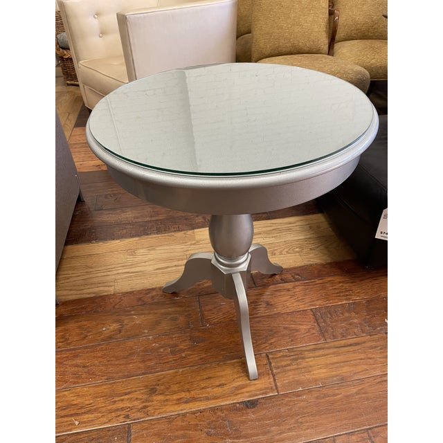 Design Plus Gallery presents a Side Table from Nordstroms. Originally purchased from Nordstroms of San Francisco. A simple...