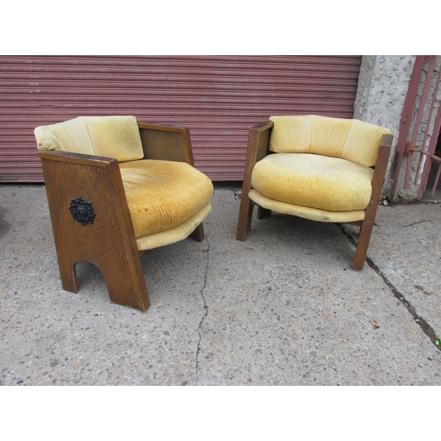 Adrian Pearsall for Mastercraft Pair of Chairs For Sale - Image 9 of 9