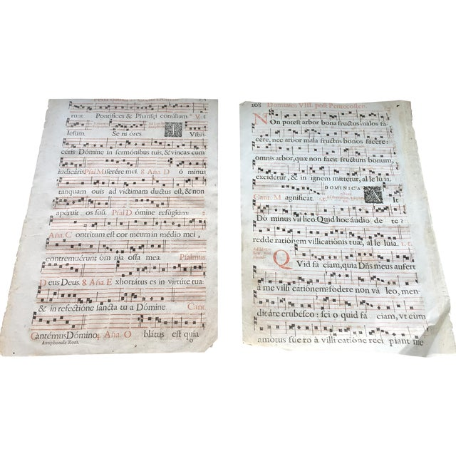 Antique Sheet Music - Pair - Image 1 of 9