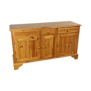 Ethan Allen Farmhouse Pine Sideboard Buffet For Sale