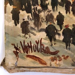 1932 Prague Masopust Carnival, Karel Votlučka Oil Painting Preview