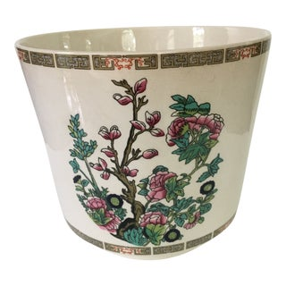 1960s Asian Enoch Wedgwood White China Planter