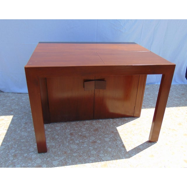 Brown Stanley Young Extending Dining Table For Sale - Image 8 of 12