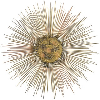 William and Bruce Friedle Wire Sunburst Sculpture For Sale