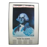 Image of Signed 1976 Peter Max Paints America Poster For Sale
