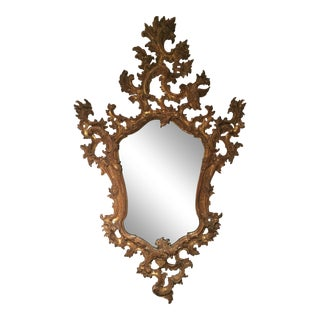 1940s Gold French Mirror