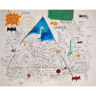 "2005 Jean Michel Basquiat ""The Unknown Notebook"" Brooklyn Museum Print For Sale"