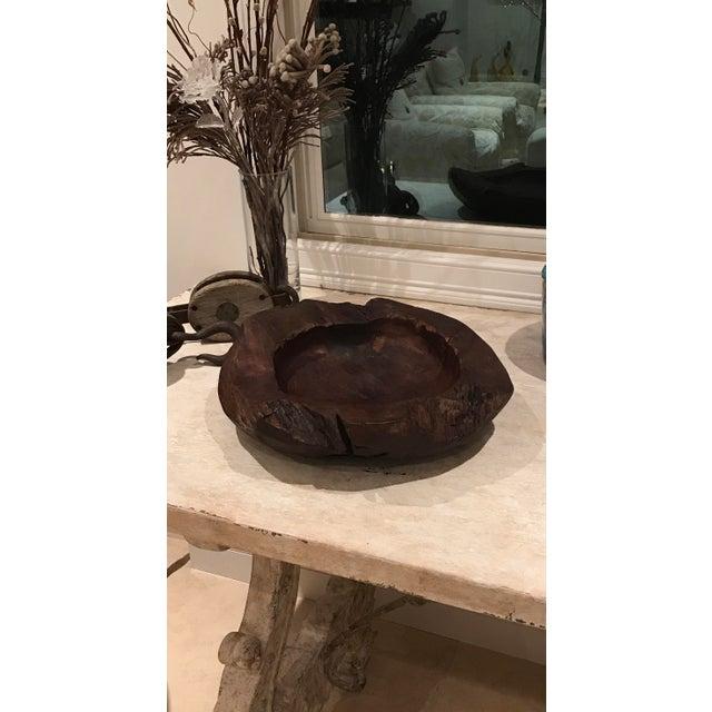 Teak Wood Bowls - A Pair - Image 11 of 12