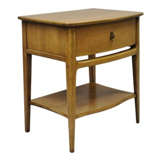 "Kent Coffey ""The Aristocrat"" Mid-Century Modern Mahogany Nightstand / Side Table"
