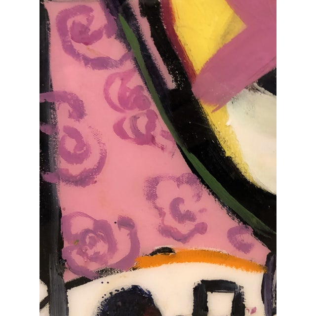 """Canvas """"Yo Tambien a La Bling"""" Painting by J J Justice For Sale - Image 7 of 11"""
