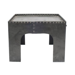 Small Square Industrial Metal Coffee Table Preview