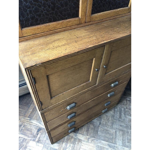Wood Antique Yawman and Erbe Oak Stacking File Cabinet For Sale - Image 7 of 11