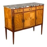 Image of Louis XVI Style French Marquetry Buffet, or Sideboard For Sale