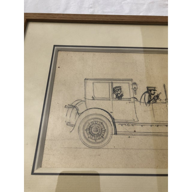 Early 20th Century Original Drawing by Bernard Boutet De Monvel For Sale - Image 5 of 13