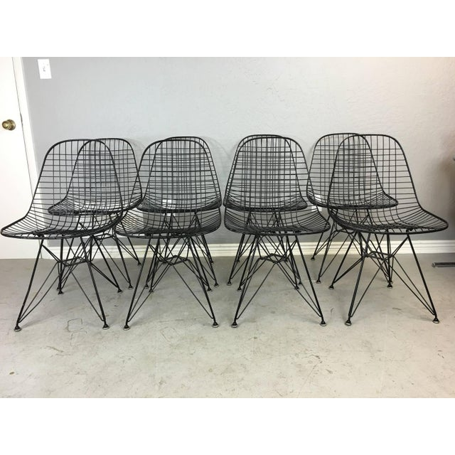 Charles and Ray Eames Dkr5 Eiffel Base Chairs - Four Available - Image 2 of 5