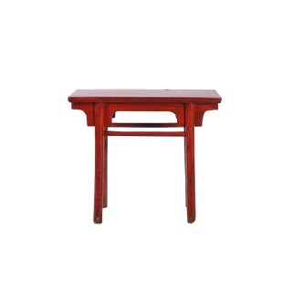 Small Lacquer Altar Table For Sale