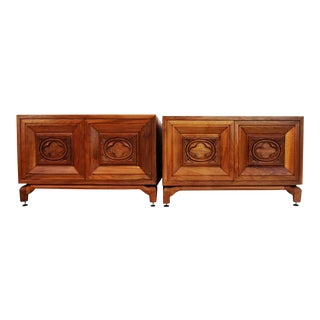 Midcentury Side Table Designed by Monteverdi Young - a Pair For Sale