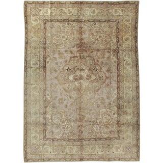 """Vintage Indian Lahore Carpet - Size: 7' 10"""" X 10' 10"""" For Sale"""