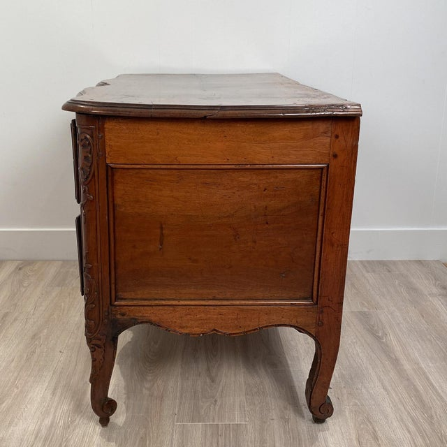 French Louis XVI 2 Drawer Commode, Italy Circa 1770 For Sale - Image 3 of 10