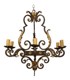 Image of Newly Made Wood Chandeliers