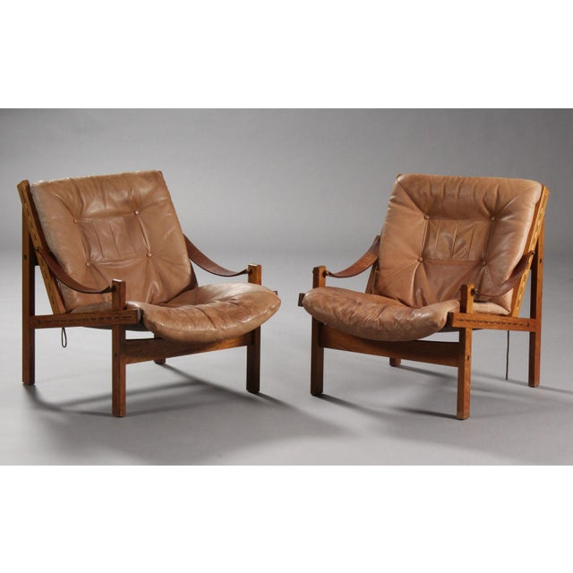 Thorbjørn Afdal Armchairs- A Pair For Sale - Image 9 of 9