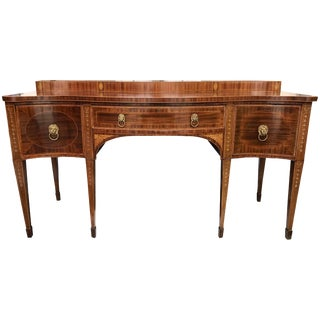 Hepplewhite Sideboard in Mahogany, Circa 1810 For Sale