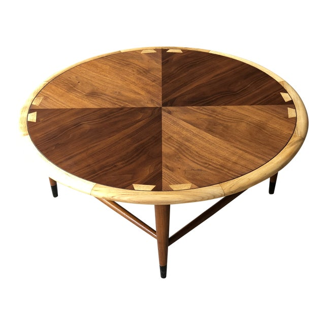 Mid Century Modern Lane Acclaim Round Coffee Table