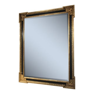 Black and Gold Formal Style Mirror