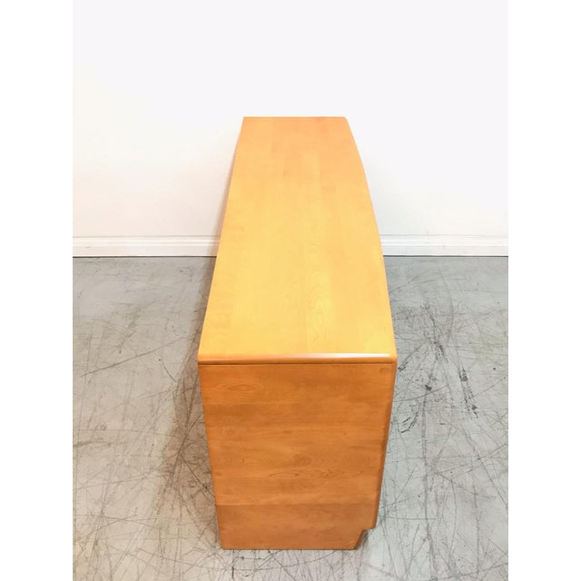 Gold Mid Century Modern Heywood Wakefield Dresser For Sale - Image 8 of 11