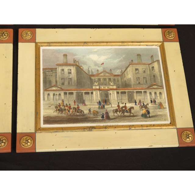 Traditional W. King Ambler 'London Views' Framed Prints - Set of 4 For Sale - Image 3 of 13