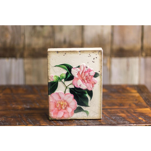 """""""Gratitude"""" Retired Sid Dickens Memory Block For Sale - Image 4 of 4"""