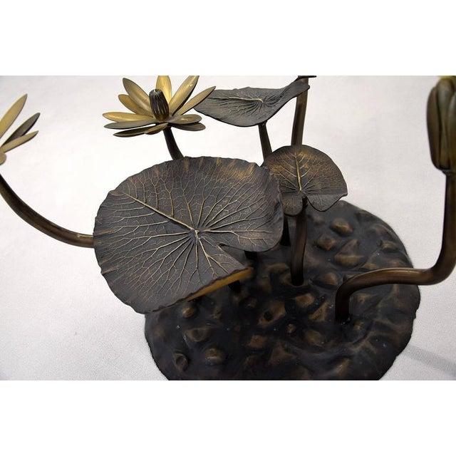 Stylish Mid-Century Modern Lotus Coffee Table - Image 8 of 11