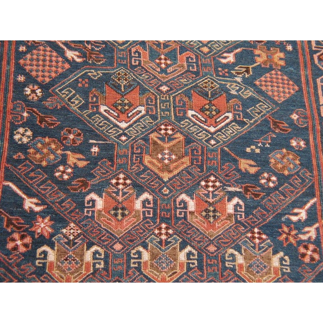 Late 19th Century Antique Sumak Runner For Sale - Image 5 of 7