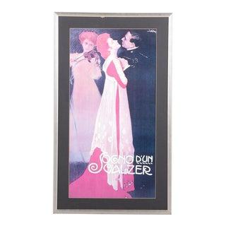"""Sogno d'Un Valzer"" Lithograph Poster"