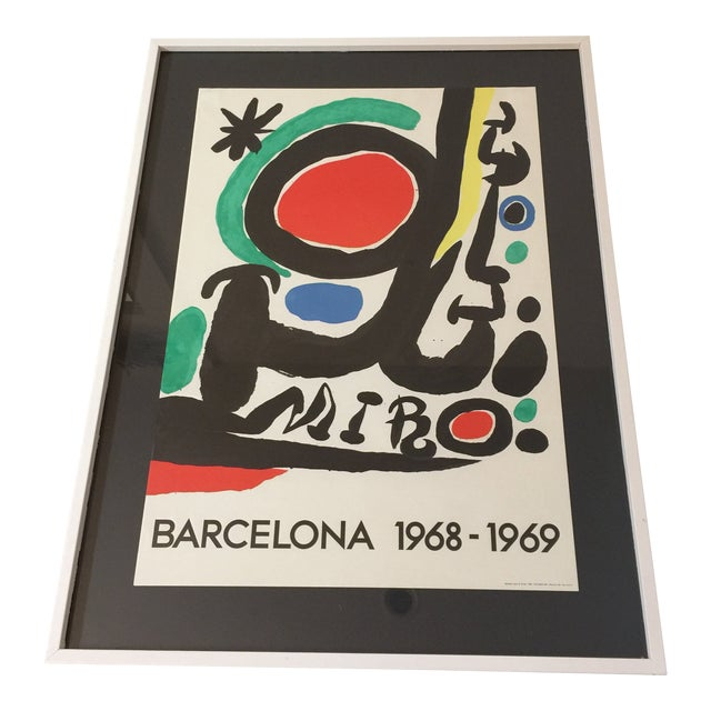 Barcelona 1968 Lithograph by Joan Miró For Sale