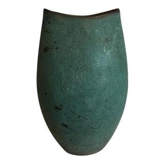 Turquoise Ceramic Handmade Vase