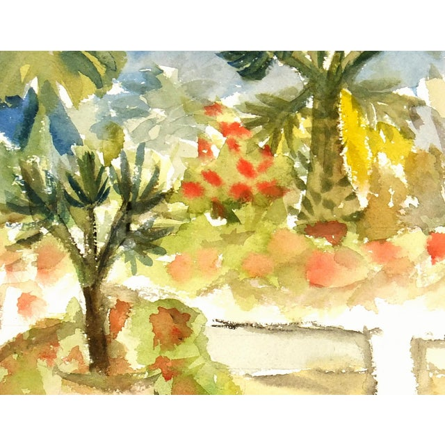 Vintage Watercolor Painting, C. 1960 - Image 2 of 3