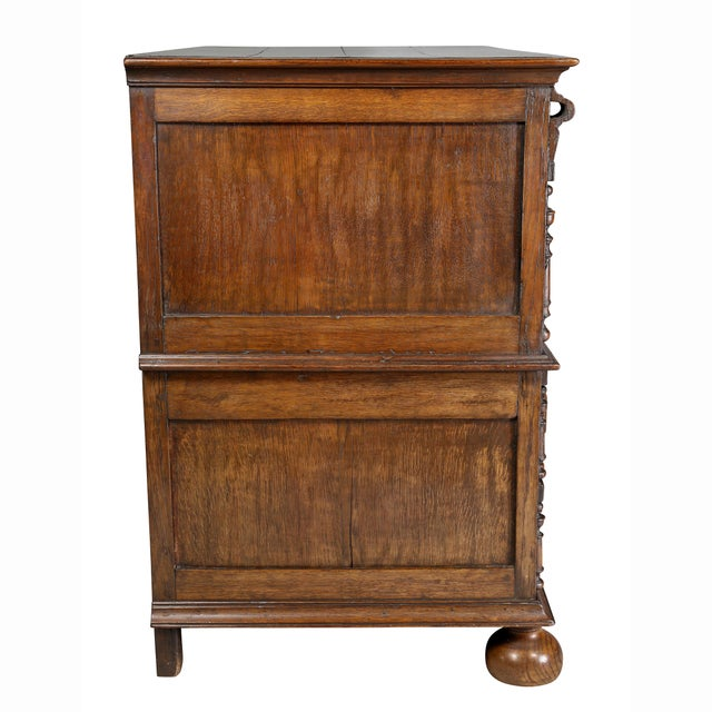 Jacobean Oak Chest of Drawers For Sale - Image 9 of 12