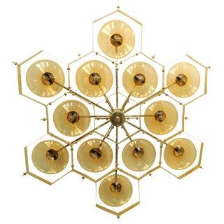 Beehive Flush Mount by Fabio Ltd For Sale