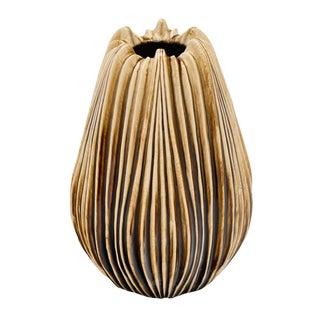 Organic Italian Ceramic Vase For Sale