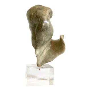 Vintage Abstract Marble Sculpture For Sale