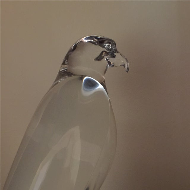 Baccarat Falcon on Rock - Image 3 of 3