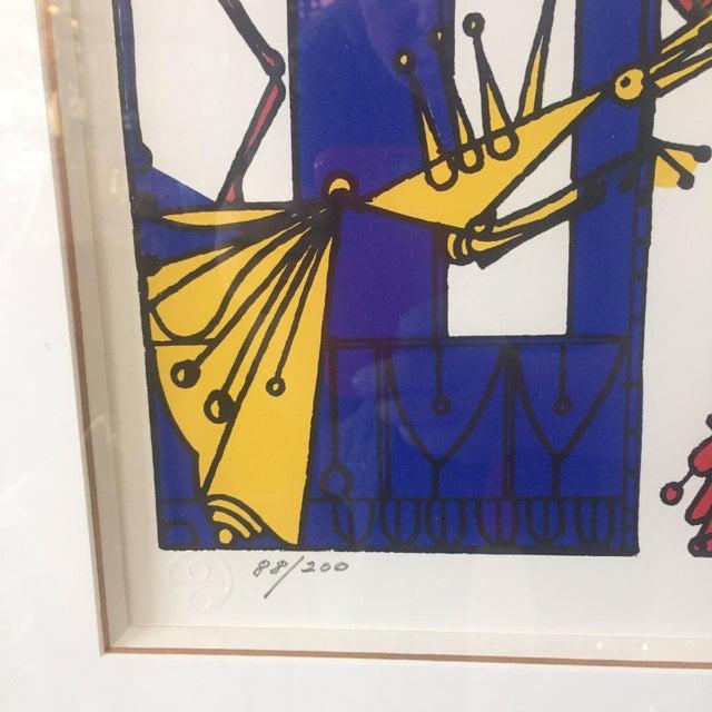 Framed Serigraph by Jose M. Mijares - Image 3 of 5