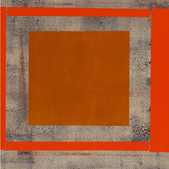 """Abstract Elizabeth Gourlay """"Ochre red ash"""", Print For Sale - Image 3 of 4"""