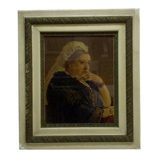 """1890 """"Queen Victoria"""" Framed Original Print"""
