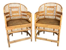 Image of Bamboo Side Chairs