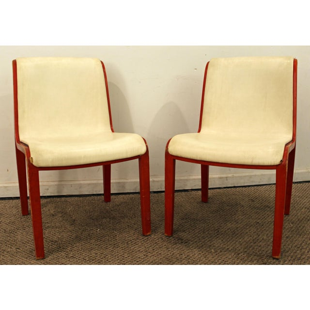 Danish Modern Knoll Bill Stevens Mid-Century Bentwood Side Chairs - A Pair For Sale - Image 3 of 11