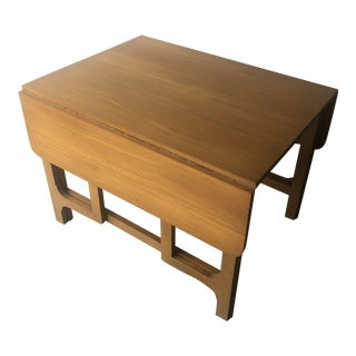 Vintage Mid Century Modern Expanding Dining Table by Edward Wormley for Drexel Furniture For Sale