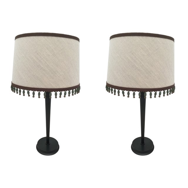 CL Sterling & Son Table Lamps - Pair - Image 1 of 4